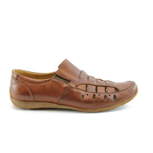 Мъжки летни обувки МИ 07КАФЕ