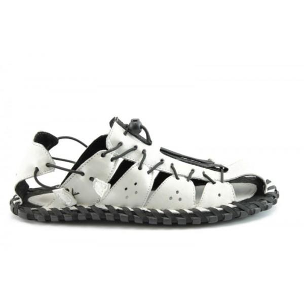Мъжки сандали КН60415БЯЛ