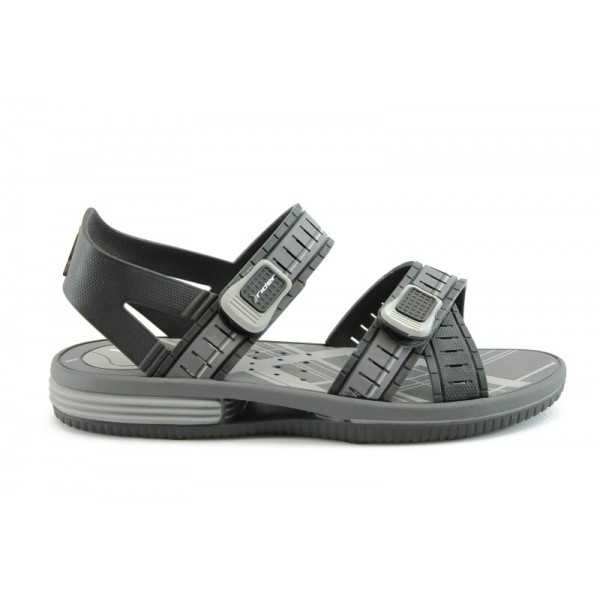 Мъжки гумени сандали Rider 80600Черно+Сиво