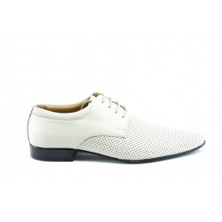 Мъжки обувки с перфорация ФН044БЕЖ