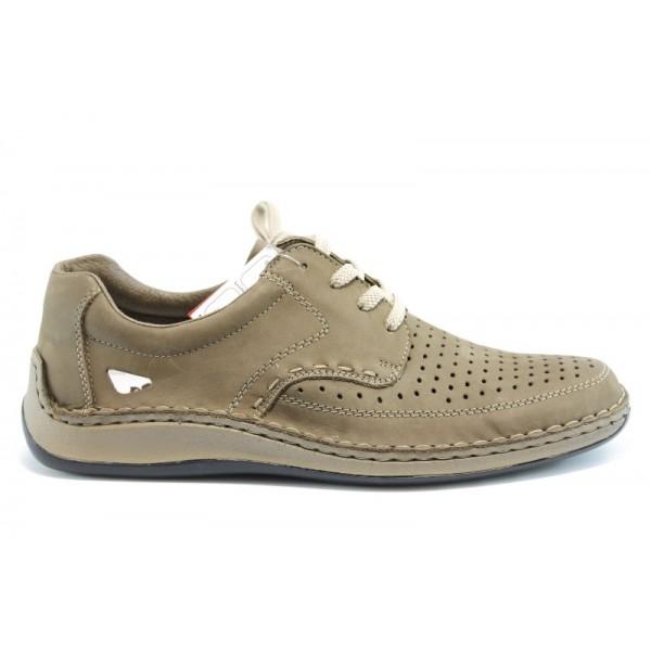 Мъжки обувки с перфорация Rieker 05237
