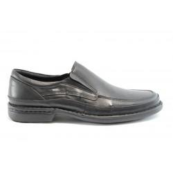 Мъжки анатомични обувки без връзки КП 7417Черен