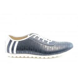 Мъжки обувки естествена кожа МИ 1060СИН