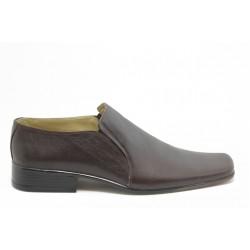 Мъжки обувки без връзки АК 802 кафяво