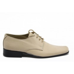 Мъжки обувки естествена кожа ШП 801беж