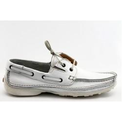 Мъжки обувки тип мокасина АК 311 бяло