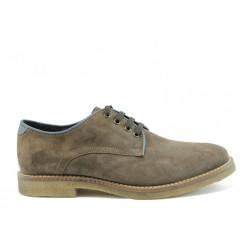 Мъжки анатомични обувки с връзки  КП 8684св.к