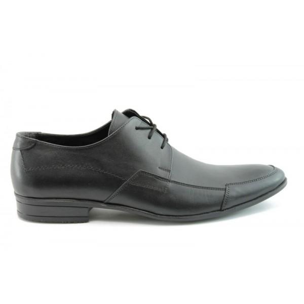 Елегантни мъжки обувки  ФН 111ЧЕРЕН