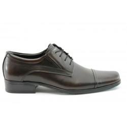 Елегантни мъжки обувки ФН 153 кафе