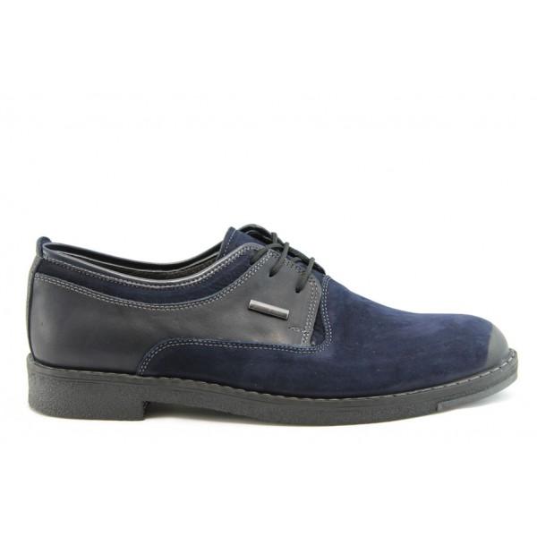 Мъжки анатомични обувки  от естествена кожа SL 18-082-01с