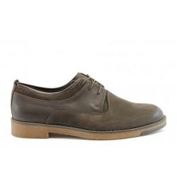 Мъжки анатомични обувки от естествена кожа SL 18-082-01к