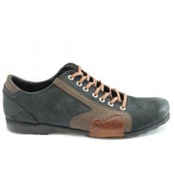Спортни мъжки обувки естествена кожа МИ 01