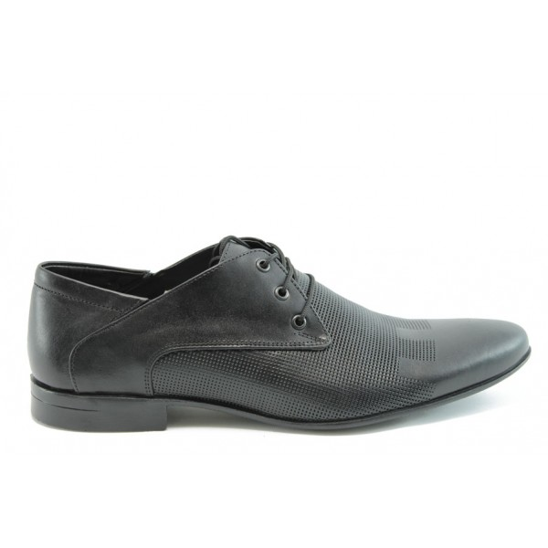 Мъжки елегантни обувки ФЯ 8061ч