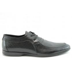 Мъжки обувки от ествствена кожа КО 15053Черен