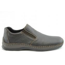 Мъжки немски обувки без връзка Rieker 05384