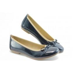 Дамски равни обувки Jana 22163 синьо