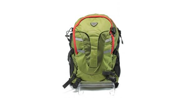 5298c550b4e Раница с анатомични гръб и презрамки Bulldozer 011 зелен